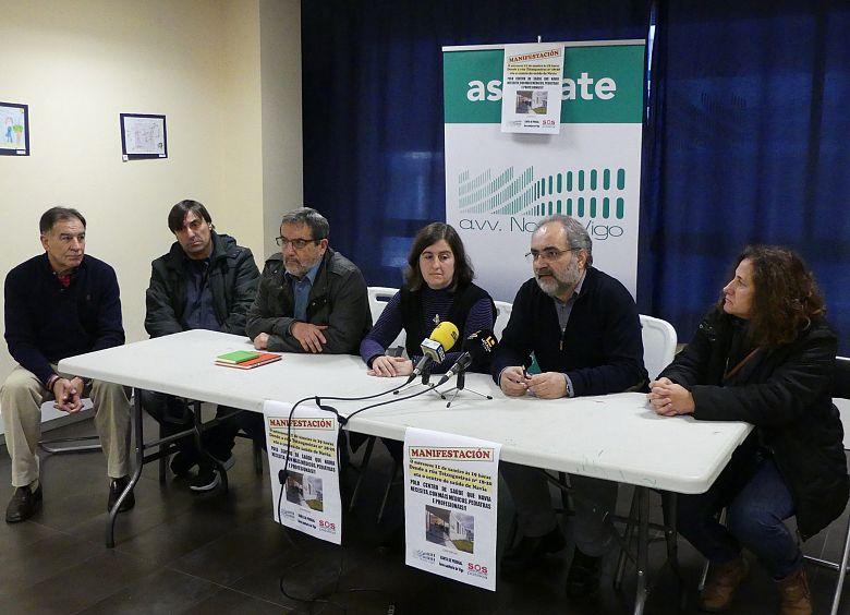 Convocada este mércores unha marcha para reclamar máis persoal no centro de saúde de Navia
