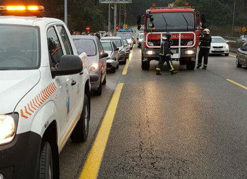 87 feridos no segundo fin de semana sen mortos nas estradas galegas