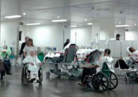 "Responsables de Sanidade afirman que la situación de Urgencias del Cunqueiro está ya ""normalizada"""