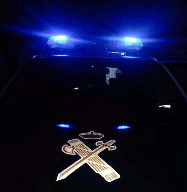 Un joven de 22 años a disposición del juzgado tras causar dos accidentes en Paradela cuando conducía bajo los efectos de drogas y alcohol