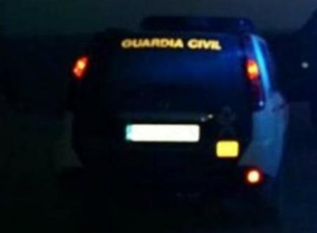 La Guardia Civil localizó en la provincia en Fin de Año a 41 conductores borrachos, 3 drogados y 5 haciendo derrapes y trompos