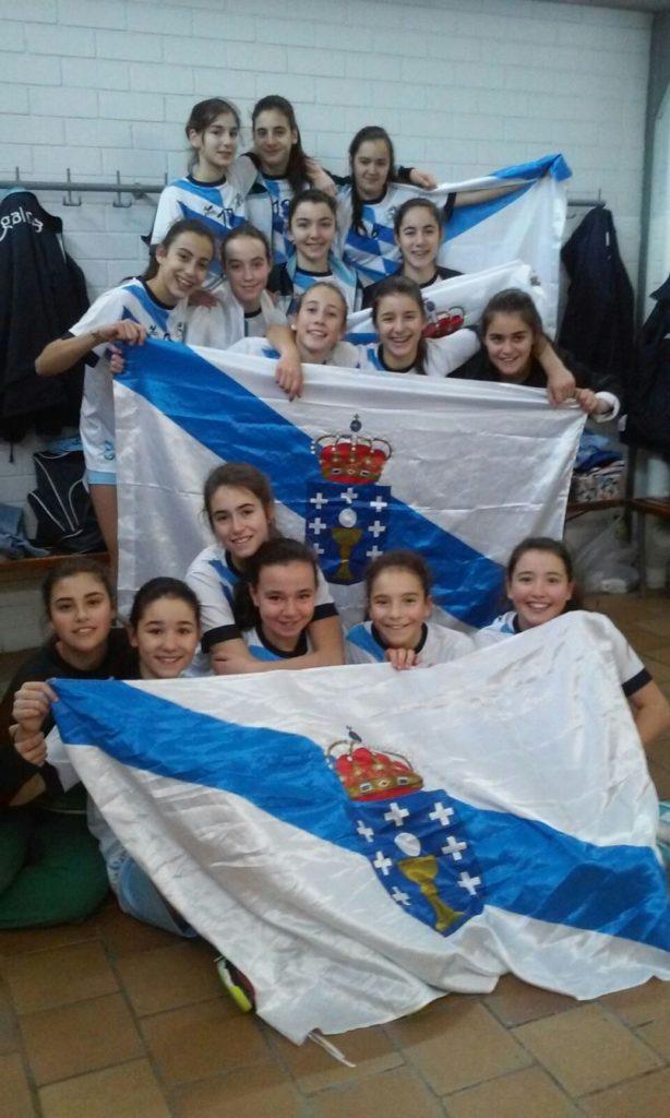 Galicia logra unha prata e un bronce co Campionato de España de Seleccións Territoriais de Balonmán