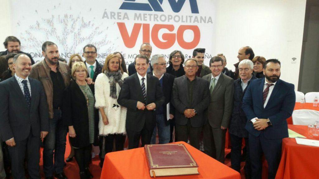 El Pleno de Vigo,con los votos en contra de @PPdeVigo, pide a la Xunta la inscripción oficial del Área Metropolitana