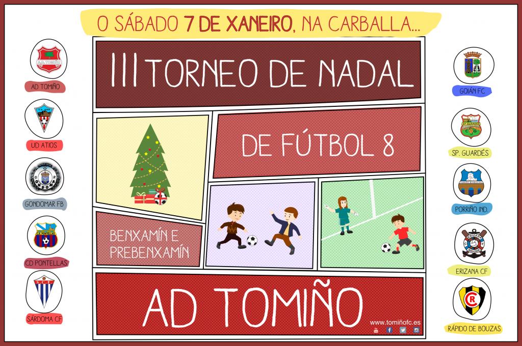 AD Tomiño organiza, un ano máis, o seu tradicional 'Torneo de Nadal' de fútbol