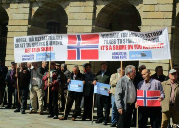 12.000 mariñeiros que traballaron en Noruega piden ao Goberno que faga algo para que se lles recoñezan as súas pensións