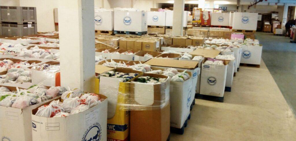 @BcoAlimentosVgo repartió el año pasado más de 2 millones de kilos de comida