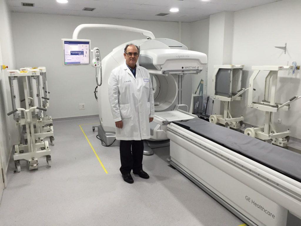 O Servizo de Medicina Nuclear da Área de Vigo estrea novo equipamento tecnolóxico