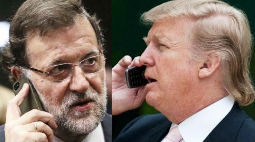 Mariano y Donald hablan hoy por teléfono