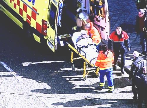 Una anciana de 84 años rescatada en Vigo tras pasar la noche en el hueco de un descampado de la Avenida Atlántida