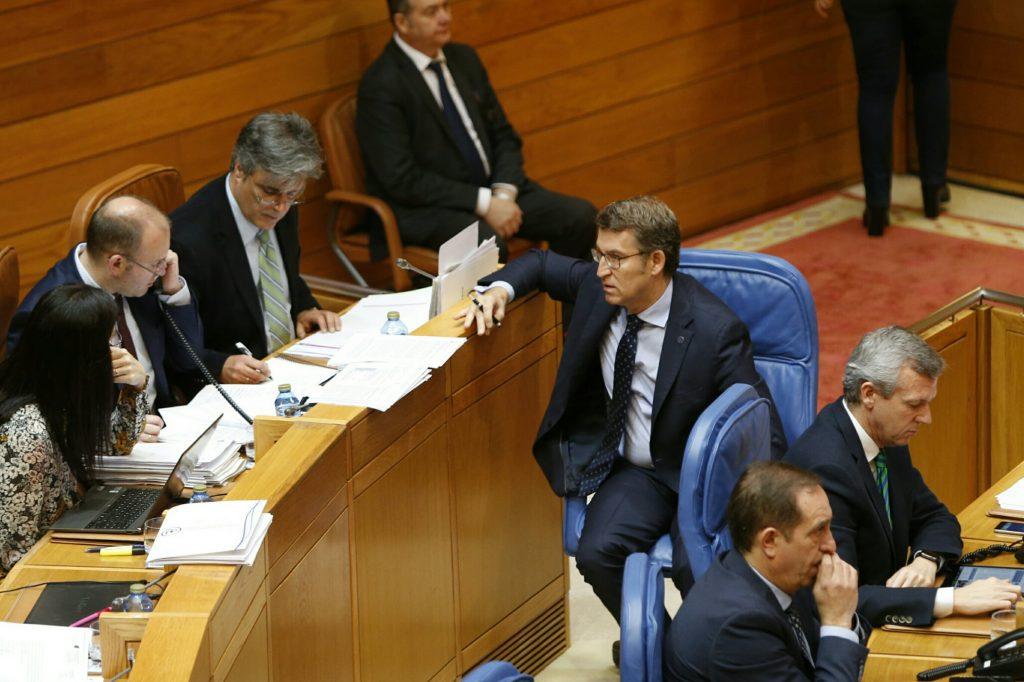 @ppdegalicia rexeita ás 1.113 enmendas da oposición e aproba en solitario os orzamentos da Xunta para 2017