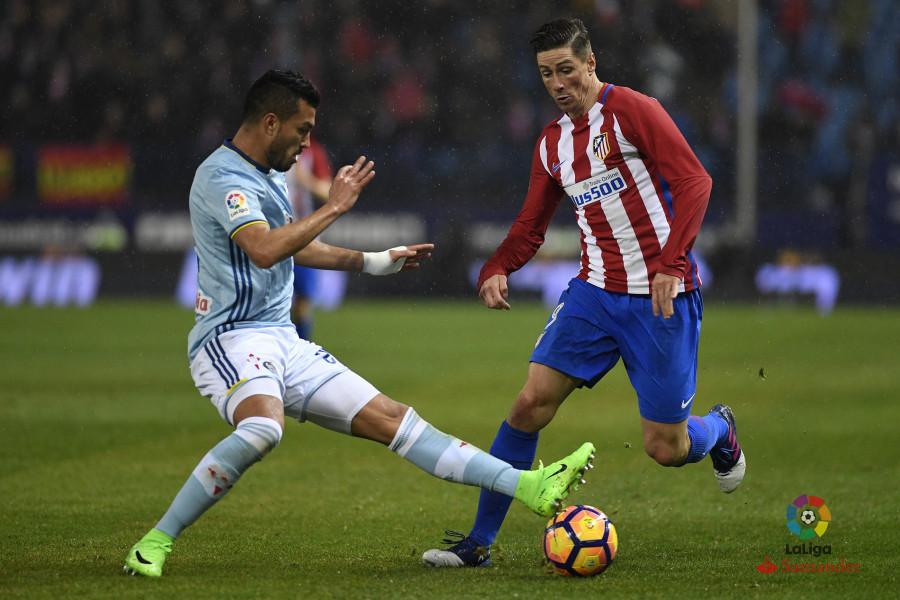 El Celta pierde en diez minutos un partido que iba ganando en el Calderón (3-2)