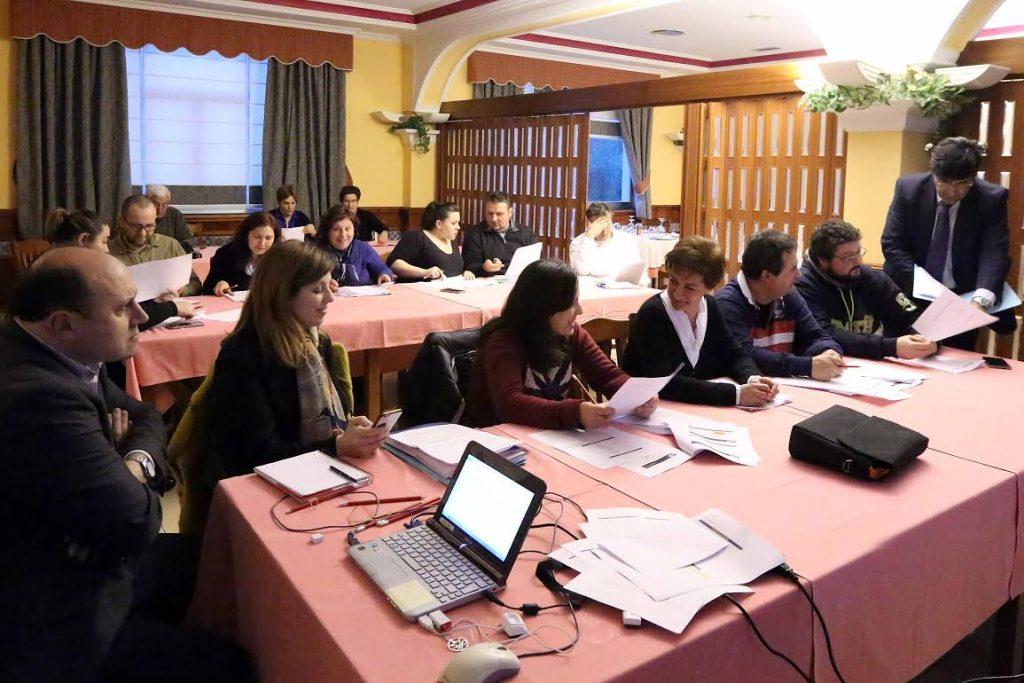 A Escola de Hostelería de Galicia forma aos hostaleiros da Ruta da Lamprea no concello de Arbo