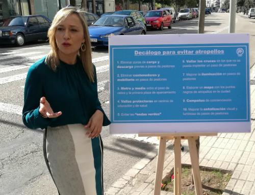 @PPdeVigo propone un decena de medidas para reducir los atropellos de peatones en la ciudad