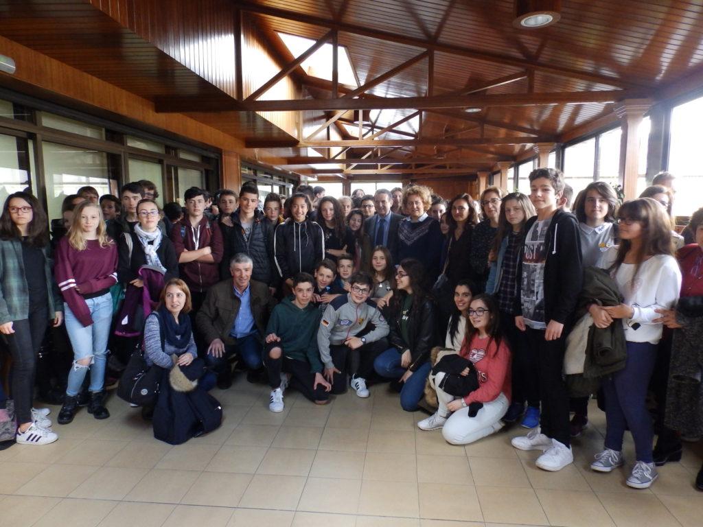 Alumnos del Collège Blaise Pascal Saint-Flour, en Francia, realizan un intercambio con el IES Castelao y el Politécnico