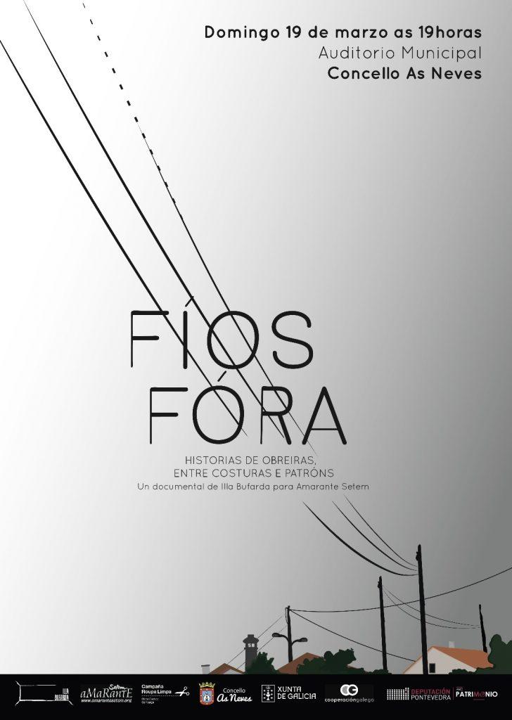 @AsNevesConcello remata o ciclo 'Inverno de Cinema' coa proxección do documental 'Fíos fóra'