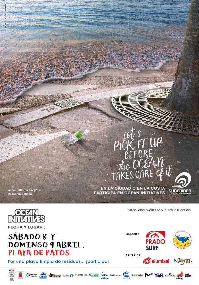 @ConcelloNigran únese a este sábado a Prado Surf, en Patos, nunha nova xornada mundial de limpeza simultánea