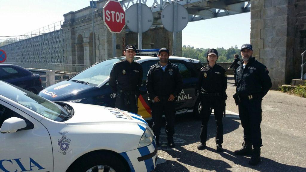 Agentes de la Policía Nacional procedentes de Galicia patrullarán en Braga, Lisboa, Oporto y Faro esta Semana Santa