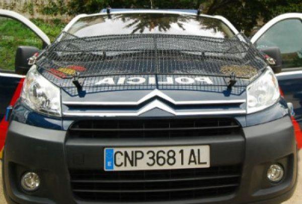Agentes de la Comisaría de Policía de Vigo acaban con un punto de venta de droga en la entrada de Redondela