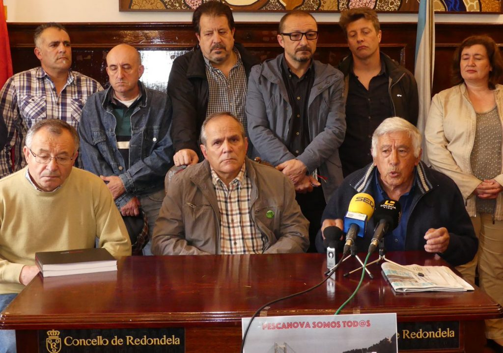 Preto de 30 colectivos súmanse á manifestación do venres en Chapela en apoio do persoal de Pescanova