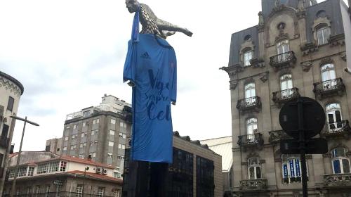 El Sireno recibirá a casi 2.000 hooligans vestido con la camiseta del Celta