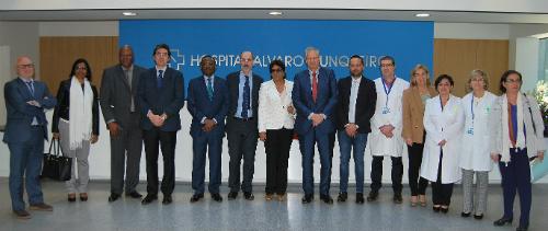 A ministra de Saúde de Mozambique visita o Cunqueiro
