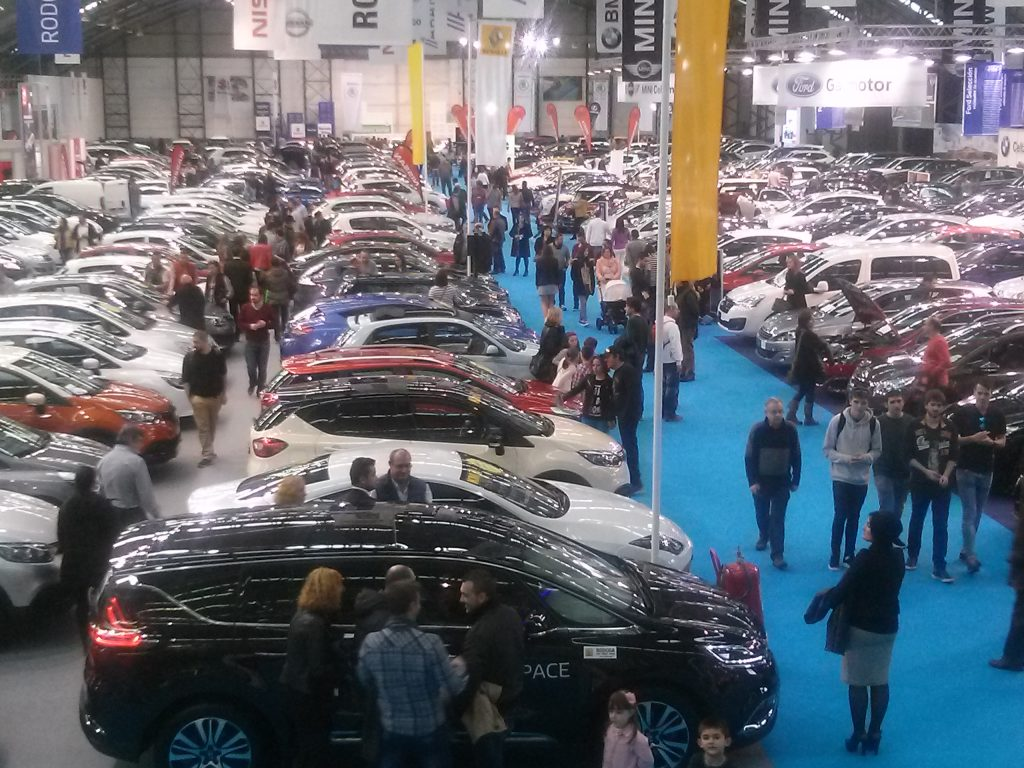 Desde este jueves está abierto en IFEVI el Salón MotorOcasión de Vigo