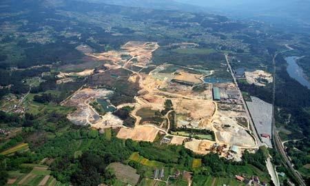 14 ofertas para a construción da Depuradora da Plataforma Loxística Salvaterra-As Neves