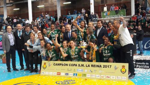 Rocasa Gran Canaria se hace con la Copa de la Reina, disputada en Porriño, al imponerse al Bera Bera