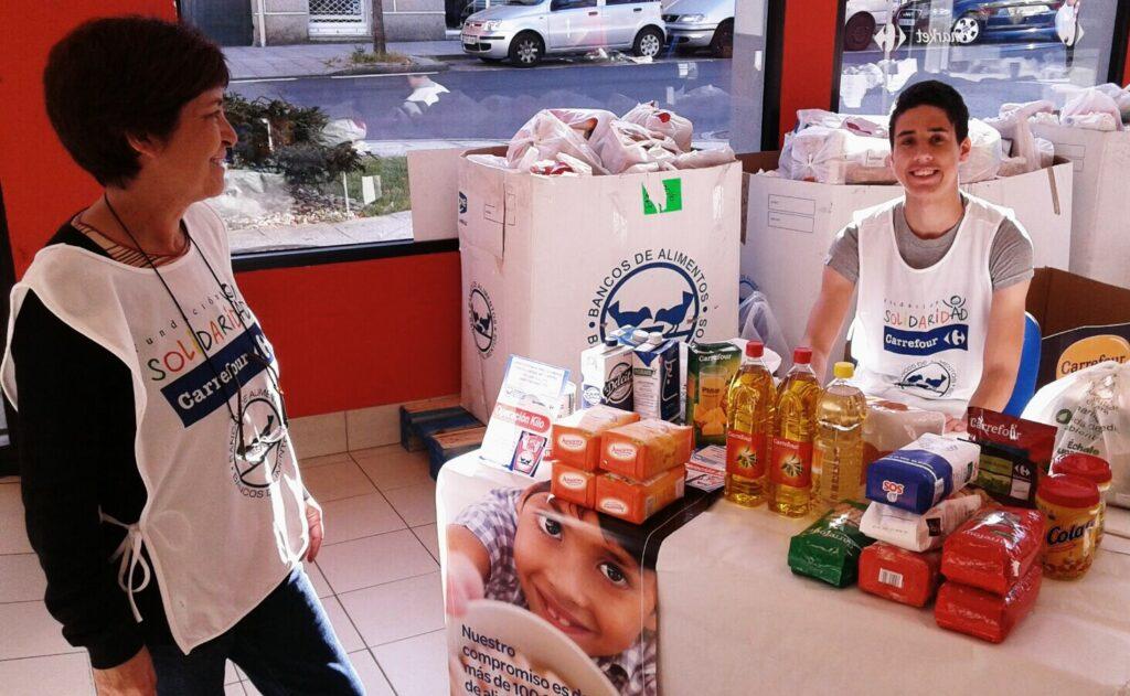 @BcoAlimentosVgo recoge 9.700 kilos de comida la 'Operación Kilo' de este fin de semana