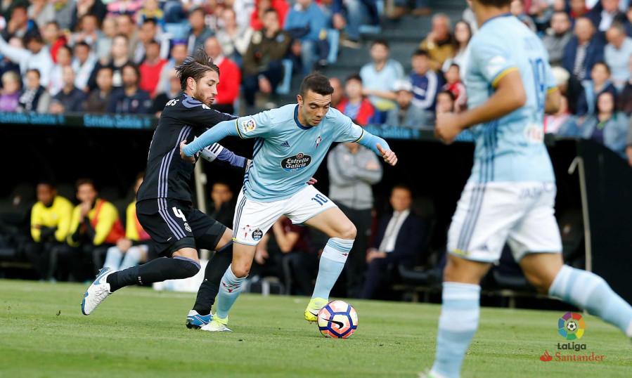 El Madrid se impone al Celta en Balaídos (1-4) y se queda a un solo punto de llevarse la Liga