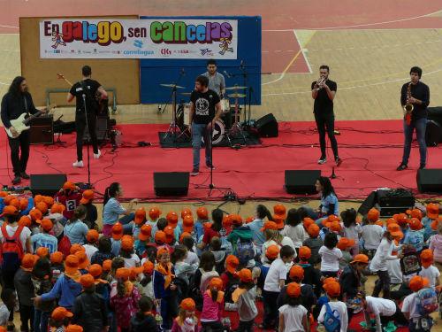 2.500 escolares participaron en Vigo no Correlingua 2017