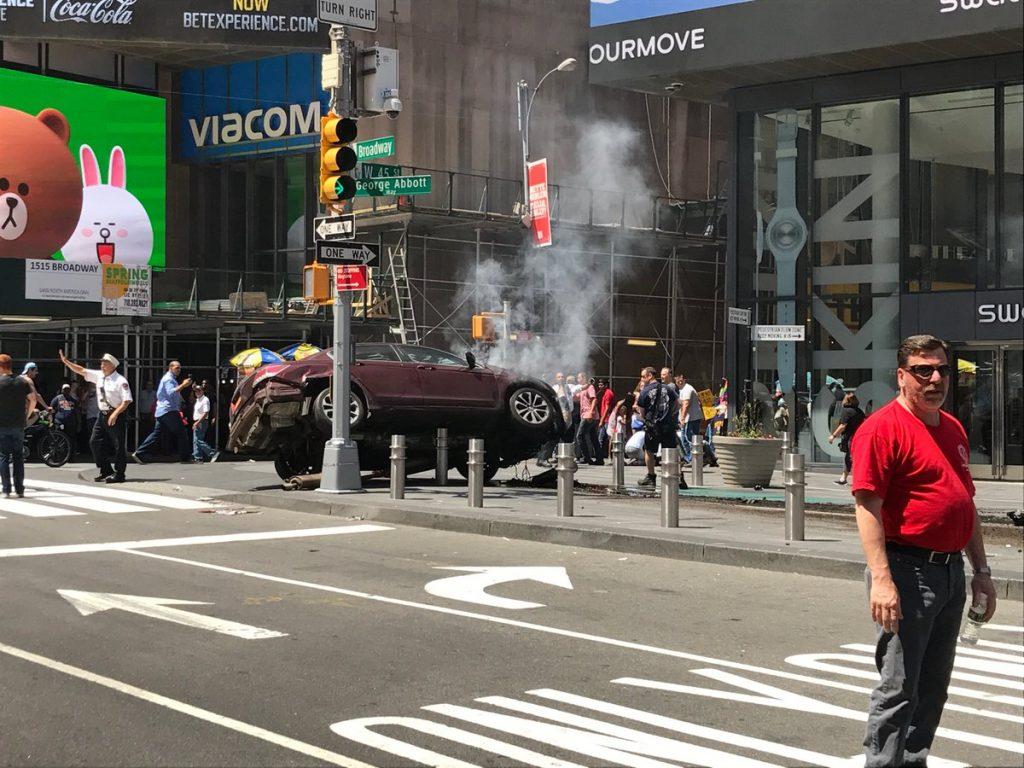 Al menos, un muerto y trece heridos en un atropello en Times Square, en Nueva York