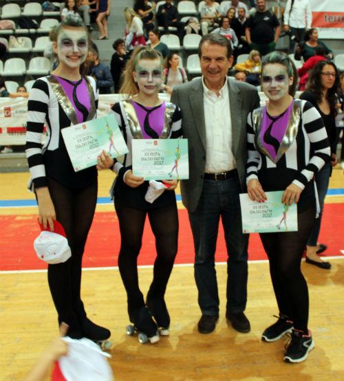 2.3000 deportistas en el Día del Patín que se celebró este miércoles en Vigo