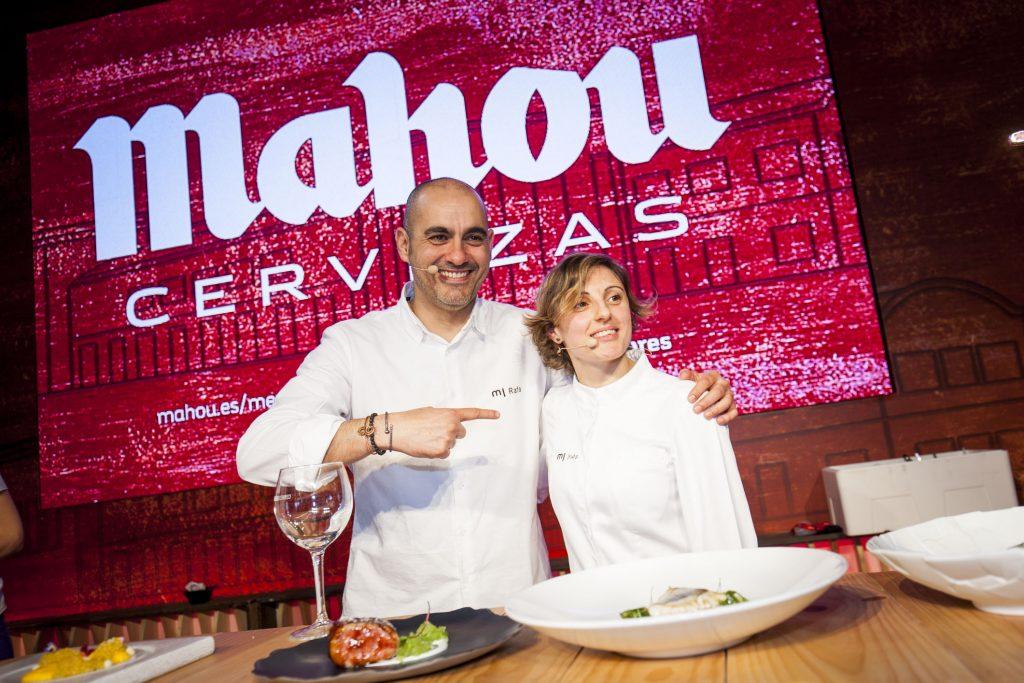 Chefs con Estrella Michelín desvelan sus secretos en el Mercado de Sabores de Mahou de Vigo