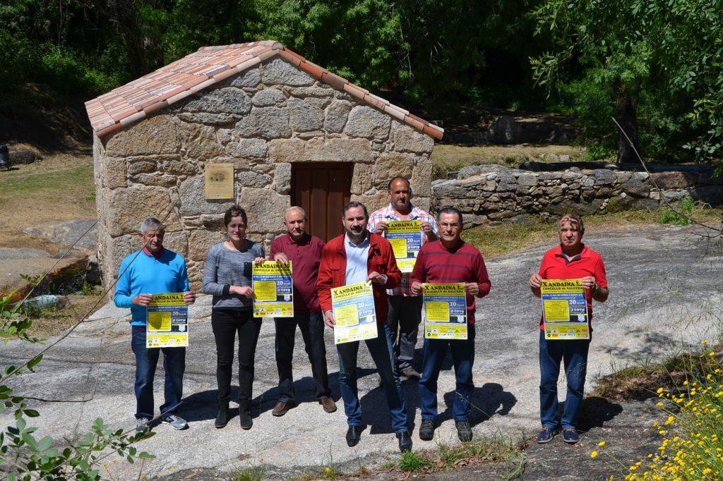 Todo listo para a X 'Andaina Concello de Salceda', incluída na Copa Galega de Andainas
