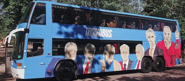 El 'Tramabús' de Podemos, el sábado en Vigo