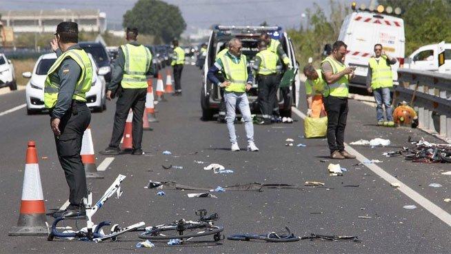 La conductora que este domingo ha arrollado a 6 ciclistas, matando a 2 de ellos, ha dado positivo en drogas y alcohol