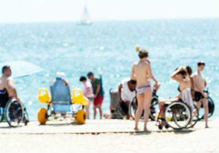 Las playas de O Grove y las de Canelas y Portonovo, en Sanxenxo, candidatas a ser la más accesible de España