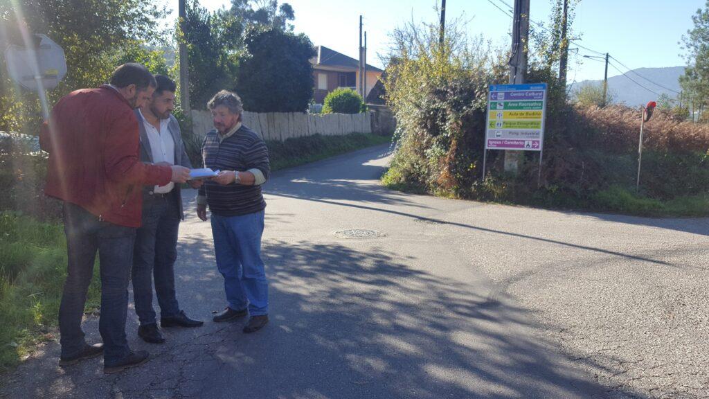 Vía libre para a mellora da seguranza viaria na EP-2503, entre Cerquido e Borraliño, no concello de Salceda
