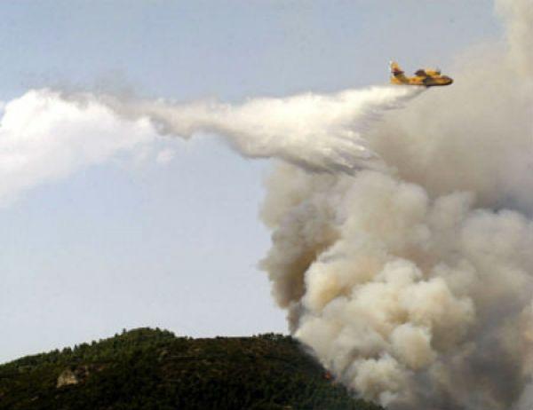 Apagado o lume que queimou máis de 190 hectáreas no concello de Monterrei