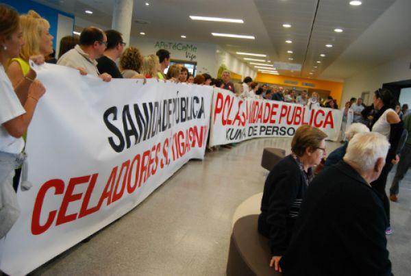 Os sindicatos convocarán folga na sanidade galega o vindeiro mes de novembro