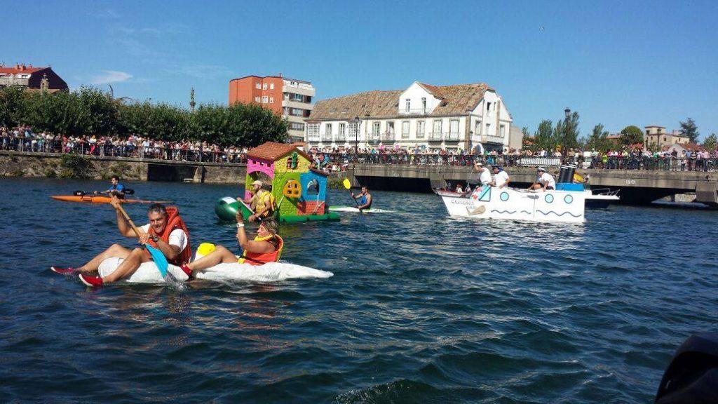@ConcelloNigran organiza por segundo ano a concentración de trebellos flotantes 'Flota Como Poidas'
