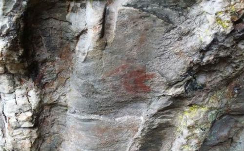 Aparece no concello de Baleira, en Lugo, unha cova con pinturas rupestres descoñecidas ata hoxe
