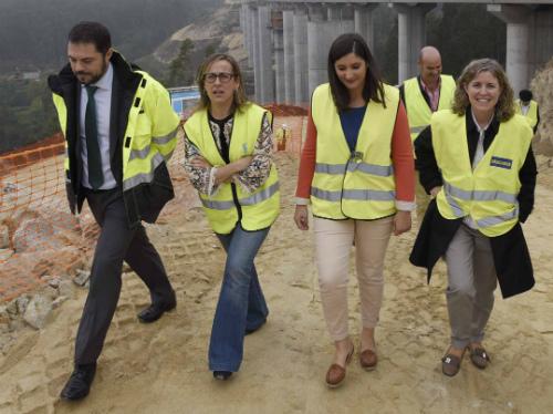 Os dous primeiros treitos da autovía do Morrazo estarán en servizo a vindeira primaveira