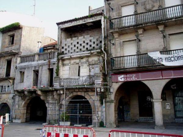 O Consorcio do Casco Vello compra un novo edificio para a súa recuperación, na Ribeira do Berbés