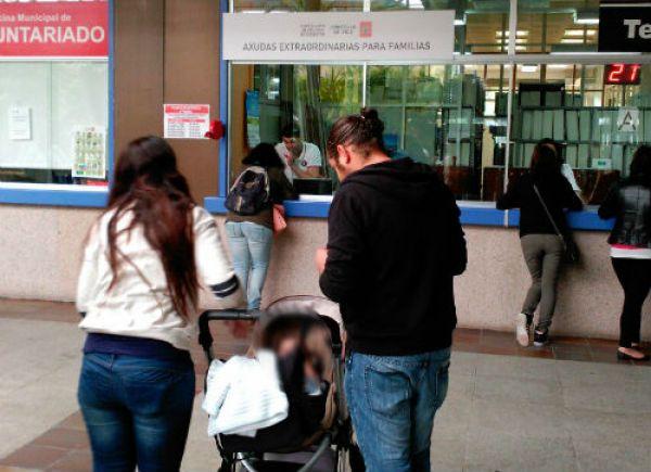 @abelcaballero asegura que o Concello pagou xa o  o 98% das Axudas Extraordinarias a familias