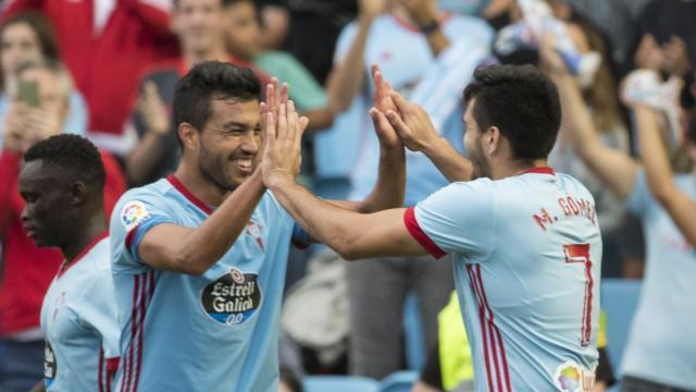 El gol de Maxi da los primeros 3 puntos de la temporada al Celta frente al Alavés (1-0)