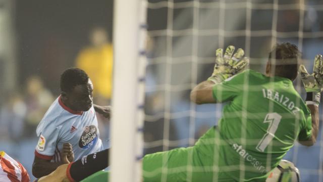 Espectacular encuentro entre el Celta y el Girona qque acaba con un 3-3 en el marcador
