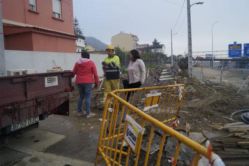 O Concello de Redondela comeza os traballos de saneamento do Camiño de Cornide, en Chapela