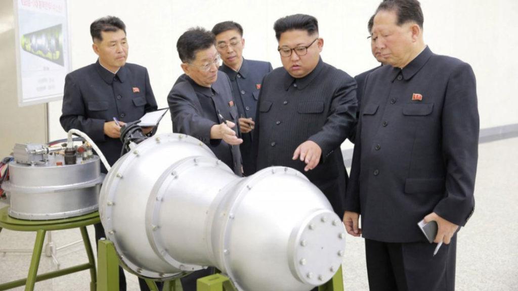 """Corea del Norte anuncia que ha probado """"con éxito total"""" una nueva bomba de hidrógeno"""